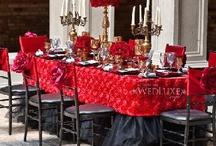 Wedding Reception Centerpieces / Wedding flower ideas centerpieces, tall centerpieces ,short centerpieces  Metro Detroit wedding florist www.RosesAreRedEvents.com