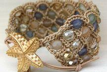 pulseiras de crochet