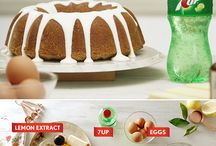 7UP Bundt Cake and Featured Pins