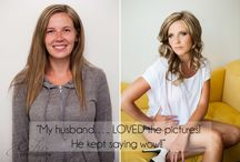 Before & Afters | Boudoir / Before and after from Boudoir photo shoots done by Echo Photography.
