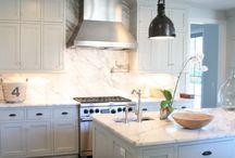 Kitchen Design / Kitchen backsplash, counter and appliance inspiration