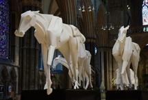 Richard Sweeney's Paper Horses