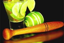 Caipirinha / The caipirinha is an alcoholic beverage of São Paulo origin. It is one of the best known Brazilian drinks nationally and internationally. It is made with cachaça, lemon-Tahiti, sugar and ice. In Brazil, it is served in most bars and restaurants. #Cheers / by Thays Galhardo