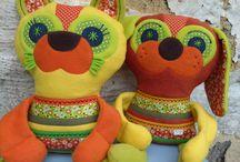 Rosallia toys (www.fler.cz/rosallia) / Výrobky zn. Rosallia, hračky z fleecu a bavlny