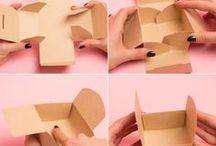 confectionner une boîte cadeau