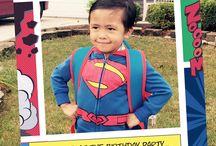 superhero birthday ideas