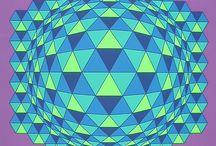 patchwork 3 D