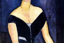 Art by Modigliani