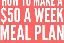 budget meals / follow this budget meals board for the best budget-friendly recipes, tips, hacks, and ideas that will keep you from spending a fortune at the grocery store...