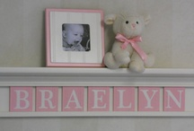 Nursery Ideas / by Kay Slice