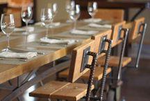 drewno-stal - krzesła stoły szafy ławy komody itp.