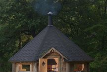 Cabins-Cottages / Cool cabins and cottages / by Ken Dusenberry