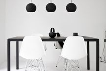 spaces / Be inspired by minimalistic, well-furnished spaces.