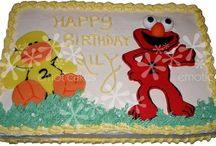 Sesame Street Cakes / This is a board to share my Sesame Street cakes