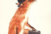 Foxy / Prints, photos, info, houseware and pretty much anything else related to the fox. / by Amy Millios