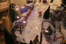 kerstdorp maken 2