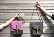 Our 2013 collection / This is the archive of our 2013 collection of tweed bags and tweed messenger bags.