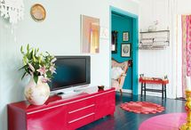 H / COLOR PALETTES / Color Schemes For the Home / by Camille Winona