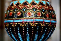 pintura de esferas