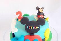 Tarta Casa de Mickey Mouse / MEM Cakes & Cookies