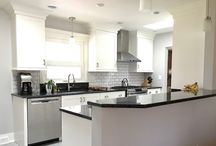 Small space to work with but never impossible for P&M!  Small kitchen freshly renovated.
