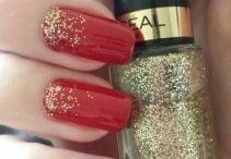 paznokcie czerwone