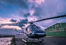 AS355N  F-GYEU / Hélicoptère sur l'île d'Yeu
