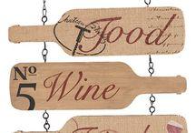 Arte Bottiglia Di Vino