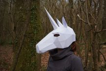 Masks geometric