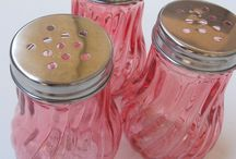 Vintage Glassware / Beautiful vintage glassware / by Kitty and Me Designs