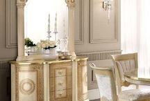Versace Inspired Dining Room Furniture
