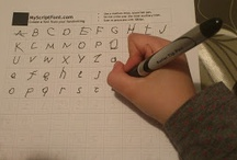 Lectoescriptura i alfabets / Idees per fer més fàcil la lectoescriptura. Alfabets preciosos.
