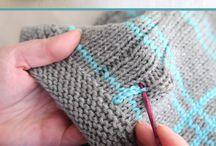 Knitting/crochet techniques, patterns