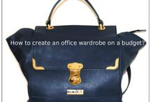 Office capsule wardrobe / How to build an office capsule wardrobe? Capsule and outfit ideas.