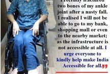 Temporary Disability / Disability does not necessarily occur by birth. It is sometimes the inefficiencies in our capabilities that occur due to some untoward, unfortunate incidents take may take place later on in life. However, with perseverance and hard work, people may shrug it off. We refer to this as, 'Temporary Disability '.