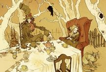 Alice In Wonderland / a collection if illustrations from artists I admire