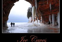 Lake Superior Ice Caves / by Barbara Heather