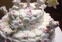 Cake / Cobertura de masmellows