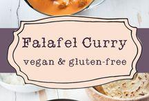 Falafel au curry / Plat