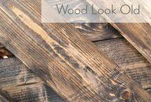 Distressing wood
