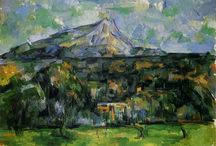 Art: Paul Cézanne / French painter 1839-1906. Post-Impressionism.