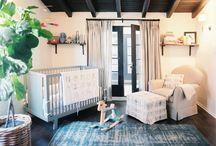 Baby nursery - deep hues and rich tones