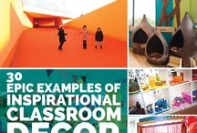 Classroom Decoration Ideas / Inspiration for setting up your classroom!