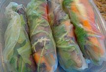 Sushi, Japanese, Thai, Chinese and Vietnamese / by Karen Collins Veneskey