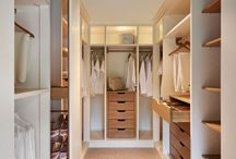 Walk in Wardrobes / A selection of walk in wardrobes.