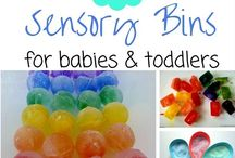 Sensory Table ideas for TODDLERS