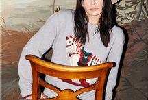 FALL WINTER 16/17 / Knitwear , luxury , CASHMIR, print , flowers , kimono, winter