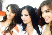 Detrás de cámaras sesión Hooters de México 2014 / Chicas Hooters de sucursales de México y Área Metropolitana, posan en la sesión fotográfica 2014 para la lente del fotógrafo Paul Brauns.