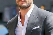 Christian grey-Jamie Dornan.