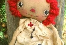 Primitives/Dolls / by twelve34handmade